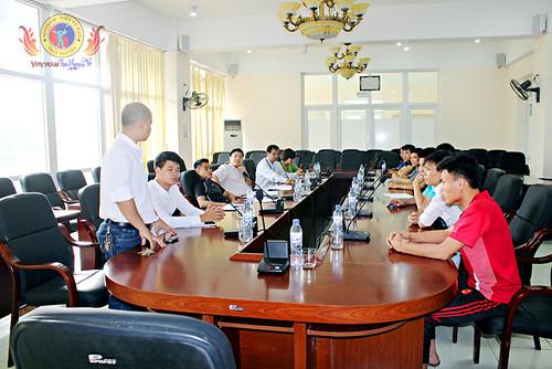 Giải Vovinam trường ĐH Sư phạm Thái Nguyên mở rộng năm 2014 chuẩn bị khởi tranh