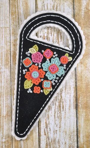 Black Quick Stitch Scissor Keeper