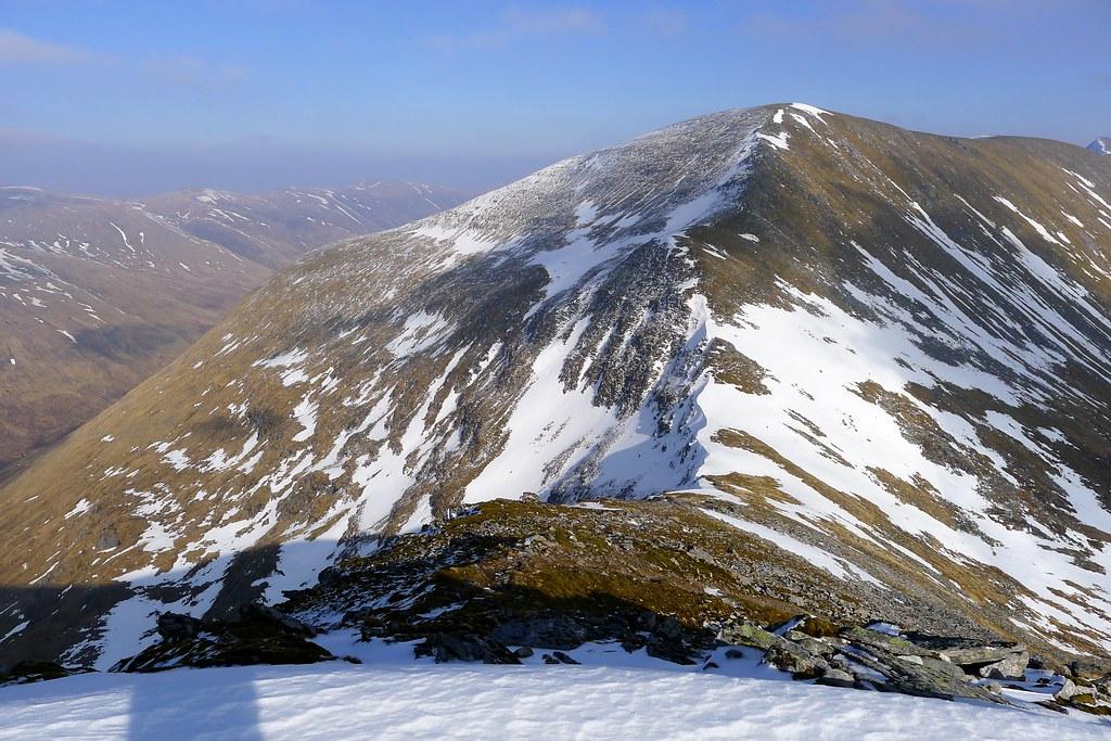 The ridge to Sgurr a'Chaorachain