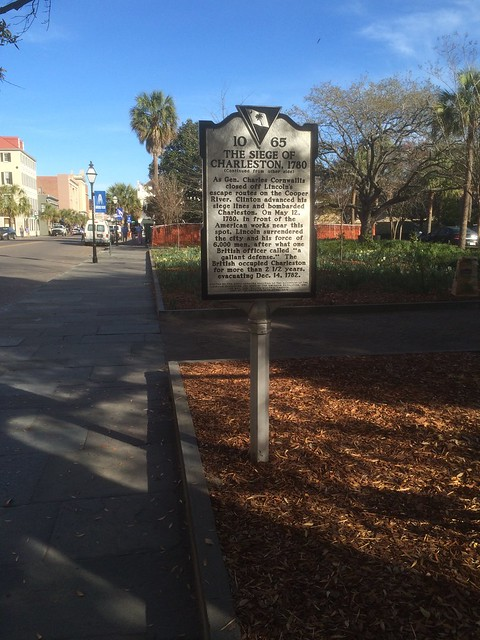 South Carolina Historical Marker #10-65