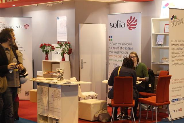 Sofia - Salon du Livre de Paris 2015