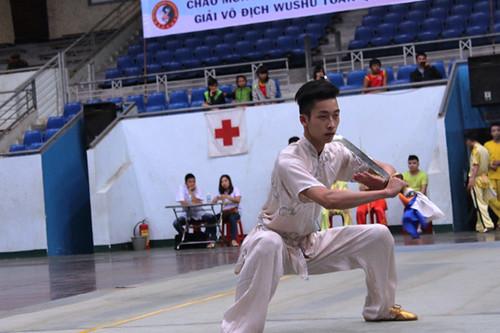 Đắk Lắk khai mạc giải vô địch Wushu toàn quốc năm 2015