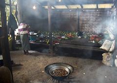 Monastery Kitchen, Mindat, Myanmar