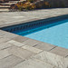 Small photo of Slate Tile Pool Application