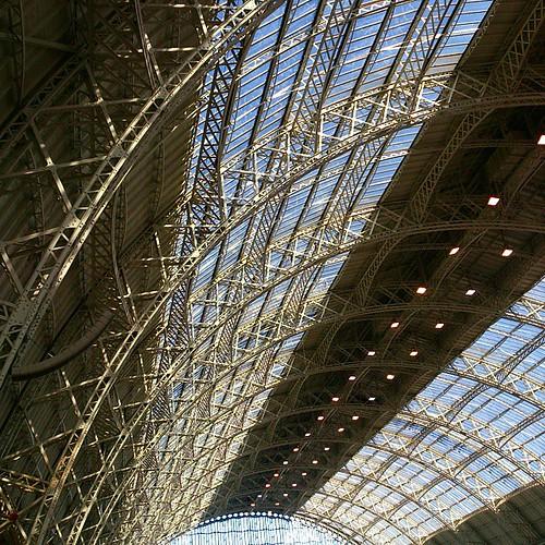 Blummin lovely ceiling at Olympia #lbf