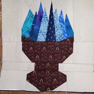 Harry Potter. Paper pieced.