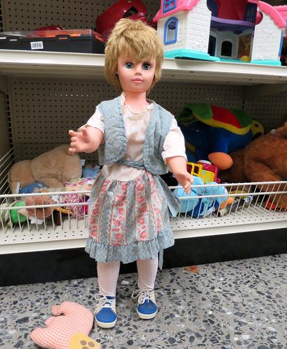 weird doll