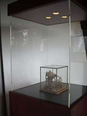 Display Case Mahogany