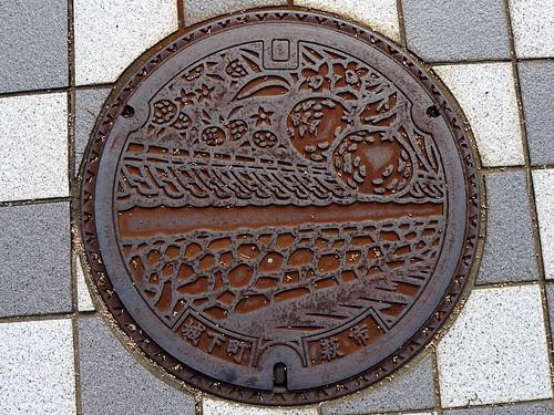 Hagi Yamaguchi, manhole cover 3 (山口県萩市のマンホール3)