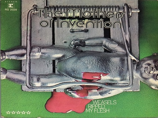 Mothers Of Invention Weasels Ripped My Flesh Rock Jazz