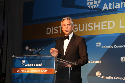 Welcoming remarks from Atlantic Council Chairman Jon Huntsman