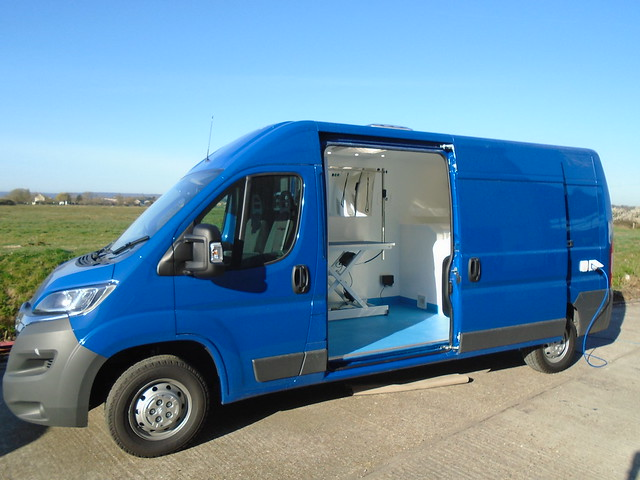 K9 Professional Grooming Van Conversion