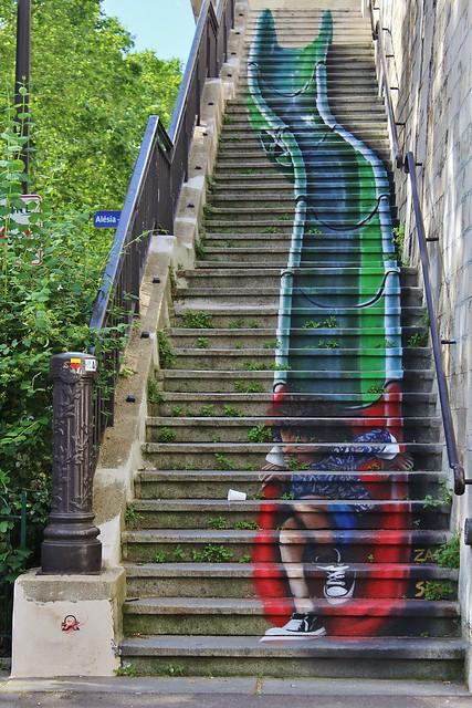 Zag + Sia_6716 rue des Artistes Paris 14