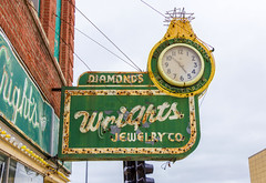 Wright's Jewelry Sign