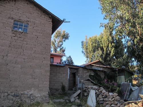 Lac Titicaca: arrivée chez notre famille d'accueil sur l'île d'Amantani