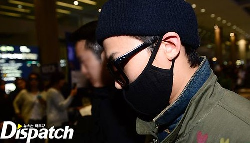 GD arriving Seoul from Fuzhou Press Pics 2015-03-29 005