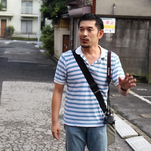 今回のツアーを案内してくれたのは、徳富さん。さふが、詳しい。