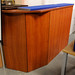 Cherry tall reception counter