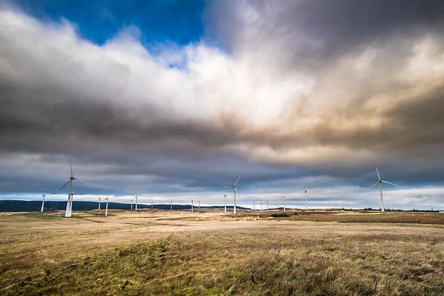 Energy fans in Northern Ireland, United Kingdom