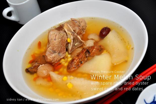 Philips Pressure Cooker Winter Melon Soup 3