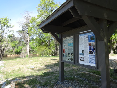 Information kiosk, Flint River Park