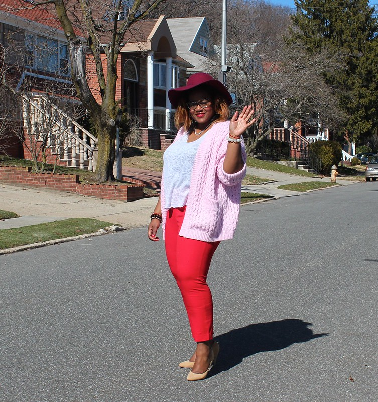pastel+pink+cardigan
