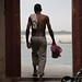 Early morning bathing in the Ganges at Varanasi by Deirdre Snook - catching up after a hectic summer