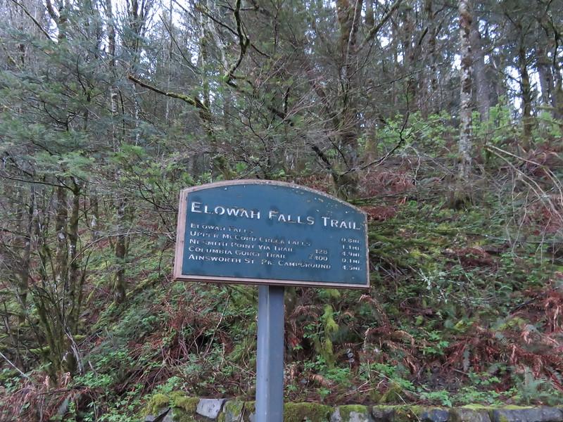 Elowah Falls Trailhead
