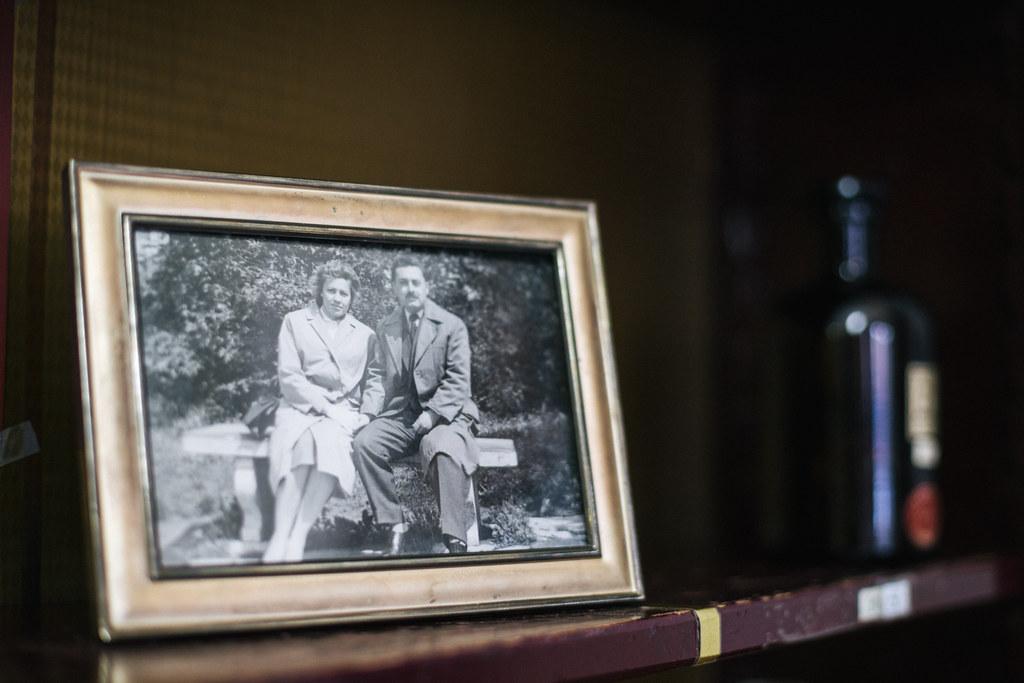 Porodična crno-bela fotografija
