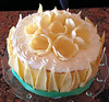 key lime / white chocolate tulip charlotte