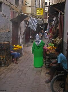 La dona de verd - The woman in green