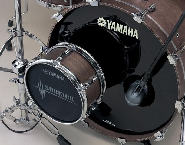 microfonear bateria yamaha subkick