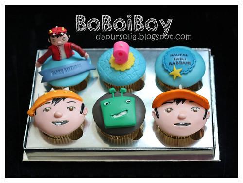 BoBoiBoy Cupcake Set