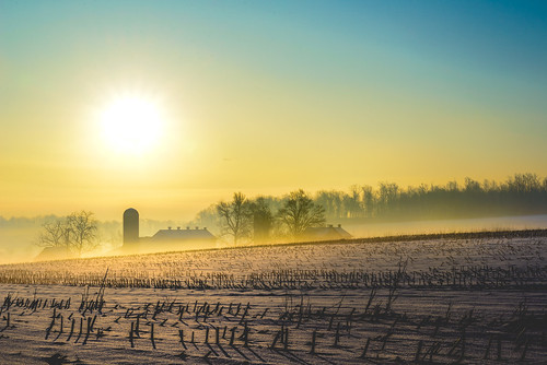snow color rural america sunrise landscape spring colorful pennsylvania farm country bart farmland amish lancaster lancastercounty countryroad snowscape ruralamerica quarryville pennsylvaniadutchcountry