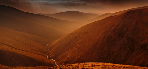 Carlin Gill Valley, The Howgill Fells (Explored). por Steve Thompson
