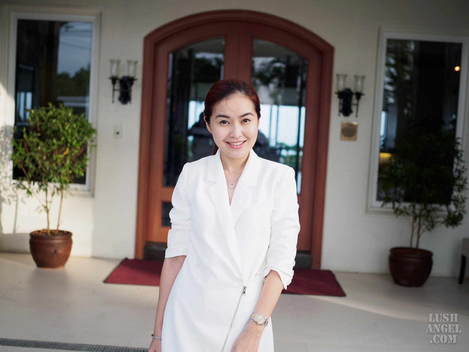 white-longsleeves-corporate-dress