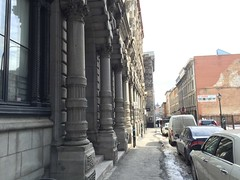 Old Montreal: Titanic Colonnade