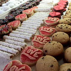 petit four(0.0), produce(0.0), macaroon(0.0), snack food(0.0), baking(1.0), sweetness(1.0), baked goods(1.0), cookies and crackers(1.0), food(1.0), pã¢tisserie(1.0), dessert(1.0), cookie(1.0),