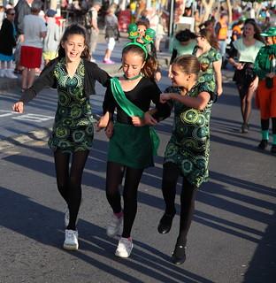 St Patrick's Day Parade-Puerto Del Carmen