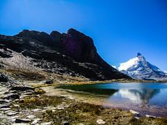 Switzerland- Rocks, Water and Peak Matterhorn