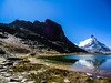 Switzerland- Rocks, Water and Peak Matterhorn