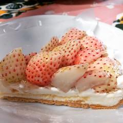 white strawberry tarte♡ #quilfaitbon #grandfront #osaka #tarte #strawberry