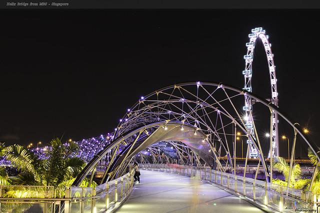Helix Bridge from MBS - Singapore