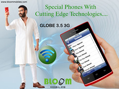 Bloom GLOBE 3.5 3G Special Phone With Cutting Edge Technologies