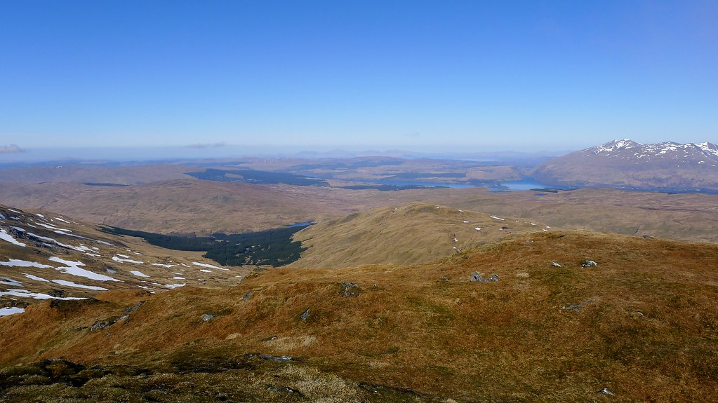 Mull and Loch Awe from Beinn Bhuidhe