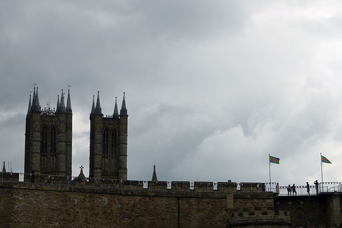Wall Walk and Lincoln Cathedral