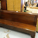 Mahogony bench/pew