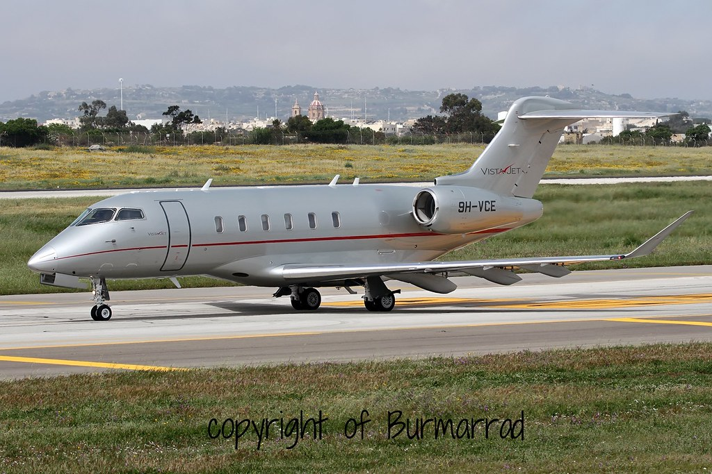 9H-VCE - CL35 - VistaJet