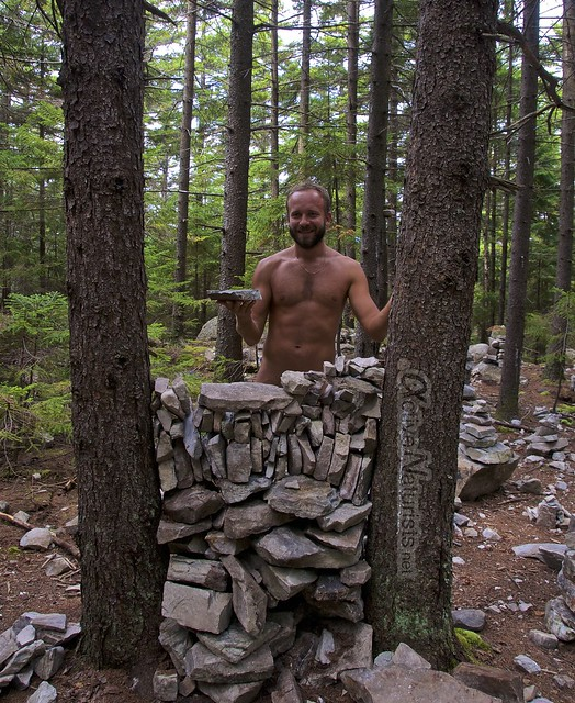 naturist 0007 Appalachian trail, Vermont, USA