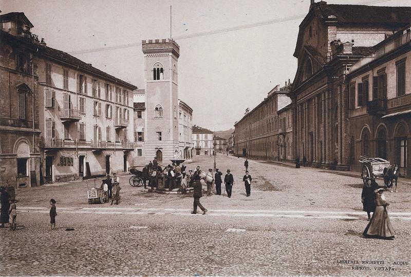Piazza San Francesco, Acqui Terme, Italy